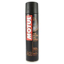 Motul A2 Air Filter Oil 400ml Aerosol