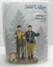 "Dept 56 Snow Village Series ""Trekking The Backcountry"" ""Brand New"""