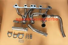 exhaust manifold Header System for 91-99 Jeep Wrangler YJ 4.0L 6-Cyl Stainless