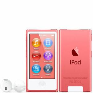 NEW Brand Apple iPod nano 8th Generation Pink (16 GB) MP3 Player - Retail Box
