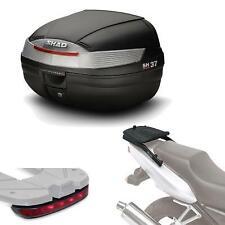 Kit fijacion y maleta baul trasero + luz de freno regalo SH37 compatible con YA