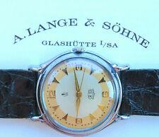 A. Lange & Söhne VEB Glashütte Cal.28 Güteuhr Q1 Vintage Men's rare Watch 1949