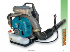 BLOWER A BACKPACK ENGINE PETROL 79,4cc Vel AIR >70m/s LEAVES GRASS professiona