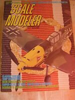 RARE JOB LOT X 6 VINTAGE AMERICAN SCALE MODELER MODEL MAGAZINES 1972 1973