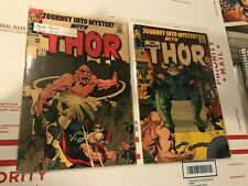 JOURNEY INTO MYSTERY THOR 120 VF 8.0 122 VG+ AVENGERS 1 LOT