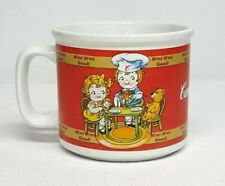 Vintage 1998 CAMPBELL'S KIDS M'm M'm Good LUNCH w TEDDY Mug 14 oz Oversize Cup