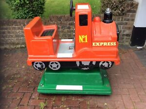 Coin Operated Express Train Kiddie Ride