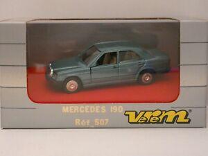 MERCEDES 190 neuf boîte 1/43º -Verem réf:507 made in France -MIB