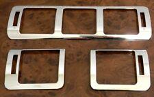 Marco de cromo ventilación de acero inoxidable para mercedes w163 ml