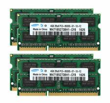 Samsung 16GB RAM 4X 4GB 2RX8 DDR3 1066MHz PC3-8500S 204PIN SODIMM Laptop Memory