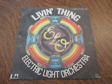 45 tours ELECTRIC LIGHT ORCHESTRA livin' thing