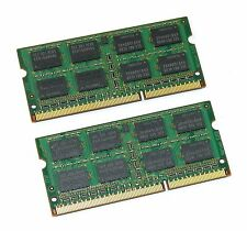 8GB DDR3 (2x 4GB) 1333MHz PC3-10600S 2Rx8 so-dimm 204-PIN ordinateur portable mémoire ram
