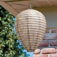 4 x Anti Wasp Paper Decoy Wasps Nests Humane Pest Control Simulated Deterrent