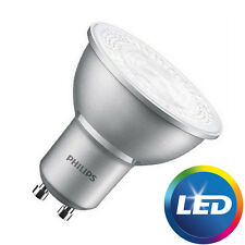 10 PACK of Philips MASTER Value 4.3W = 50W LED Dimmable GU10 Bulb Cool White 840