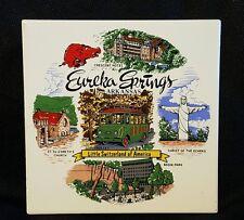Eureka Springs Arkansas Collectible Decorative Tile Art