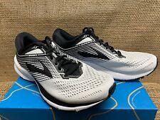 NIB Brooks 110278 Men's Launch 5 White/Black/White Athletic Shoe