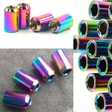 20PCS M12xP1.25GM Alloy Steel Hex Rounded Anti-theft Nuts Screw for Racing Wheel