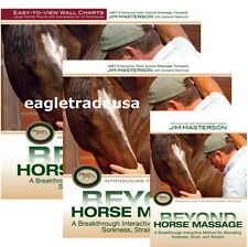 Beyond Horse Massage by Jim Masterson - Book, DVD & Wall Charts Set (3 items)