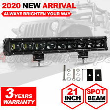 21 Inch 100W Single Row Led Light bar CREE LEDs for Jeep SUV Truck Driving Light