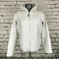 Nike Therma Fit Women's Jacket Reversible Off-White Hooded Size Large