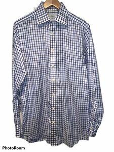 Charles Tyrwhitt Plaid Dress Shirt  - Non-Iron Slim Fit - 15.5 x 35 C7