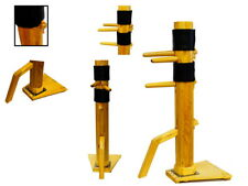 Traditional WING CHUN Solid Wood Dummy Free Standing Frame IP MAN Martial Art