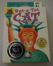 New listing Gamewright Rat-A-Tat-Cat Card Game Oppenheimer Best Toy Award Mensa Select