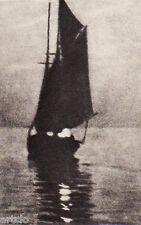 """Héliogravure - 1926 - """" Effets du soir """"  par Joh.Mulber"""