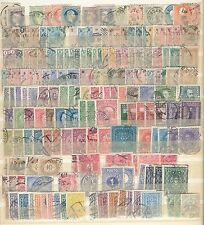 Misc Used Austria / Austrian stamps in 16 page stockbook