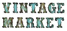 Sizzix Bigz XL Vintage Market alphabet die #658772 Retail $69.99 Retired, Holtz