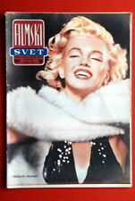 MARILYN MONROE ON RARE COVER 1962 EXYU MAGAZINE