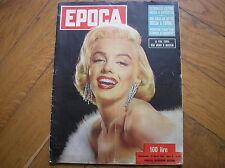 Marilyn Monroe on Cover Magazine Classic 1954 in Cover Italian Magazine