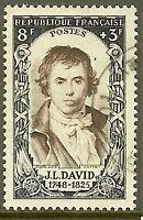 "FRANCE TIMBRE STAMP N°868 ""CELEBRITEES DU XVIII,J-L DAVID"" OBLITERE TB"