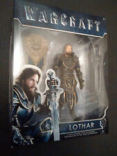 WARCRAFT 6 Inch Action Figure - Lothar - Brand New - Superb Collectable