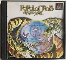 Popolocrois - PlayStation / PS1 - Avec notice / Stickers - NTSC-J JAP