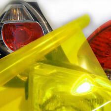 Scheinwerfer Folie Gelb 100cm x 30cm Tönungsfolie Nebelscheinwerfer Rückleuchten