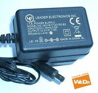 LEI POWER SUPPLY MV18-Y120150-B2 12V 1.5A UK PLUG