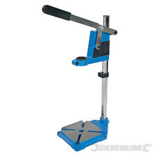 Silverline 633764 Drill Stand 500mm hand electric drill work holder drilling