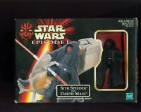 Star Wars Episode 1 SITH SPEEDER AND DARTH MAUL BOX SHOWS WEAR B-127