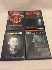 Horror 4 DVD Collection Set Dracula2000- The Grudge- Halloween- The Boogeyman