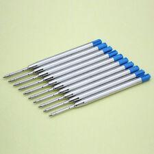 10pcs Blue Ink Parker Style Standard 0.5MM Ballpoint Pen Refills NIB Medium