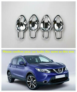 Chrome Accessories Door Handle Bowl Cover Trim for Nissan Rogue Sport 2014-2020
