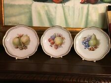 VintagenGerman Fruit Plates with Plates Clips for Display-3
