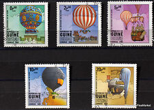 GUINE BISSAU TIMBRES ZEPPELIN MONTGOLFIERE DIRIGEABLE   66M01