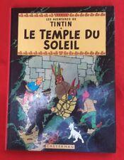 TINTIN TEMPLO EL SOL 14C1 CASTERMAN 1975-76 HERGÉ BUEN ESTADO BD BANDA COMIC