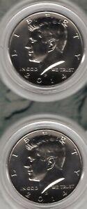2014 USA Mint 50th Anniversary Kennedy Half-Dollar Uncirculated Coin Set
