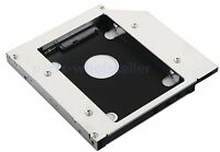 2nd HDD SSD SATA Hard Drive Optical Caddy for Dell Latitude E5430 E5510 E5530
