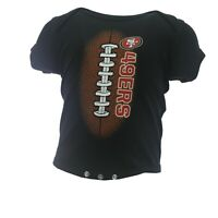 San Francisco 49ers NFL Official Apparel Infant Baby Creeper Bodysuit New Tags