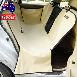Pet Dog Back Car Seat Cover Rear Seat Protector Hammock Mat HeavyDuty Waterproof