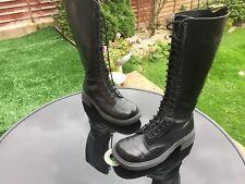 Dr Martens 1420 black smooth leather boots UK 7 EU 41